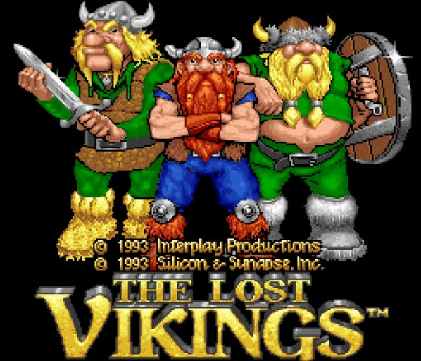 The Lost Vikings - DOS BOX